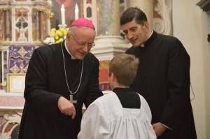 7 Visita pastorale del Vescovo Pizziol alla comunità legata al Rito antico