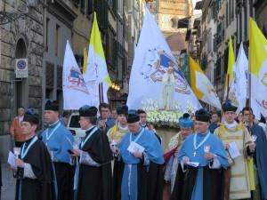 Celebrazione Nazionale dei Coetus Fidelium d'Italia in onore della B.V.M. di Fatima, 13 maggio 2017, Firenze