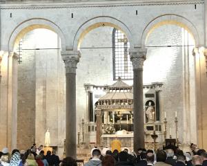 """IV Pellegrinaggio Pugliese """"Summorum Pontificum"""", 24 aprile 2017, Bari, Basilica di S. Nicola"""